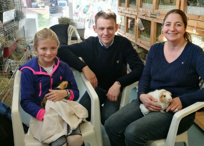 The Atwood Family, who came in for a Care Class and Adoption in February 2018