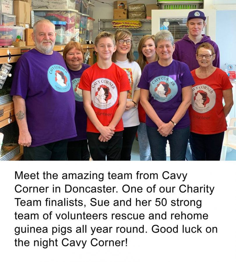 Photo of Cavy Corner Volunteers by CEVA